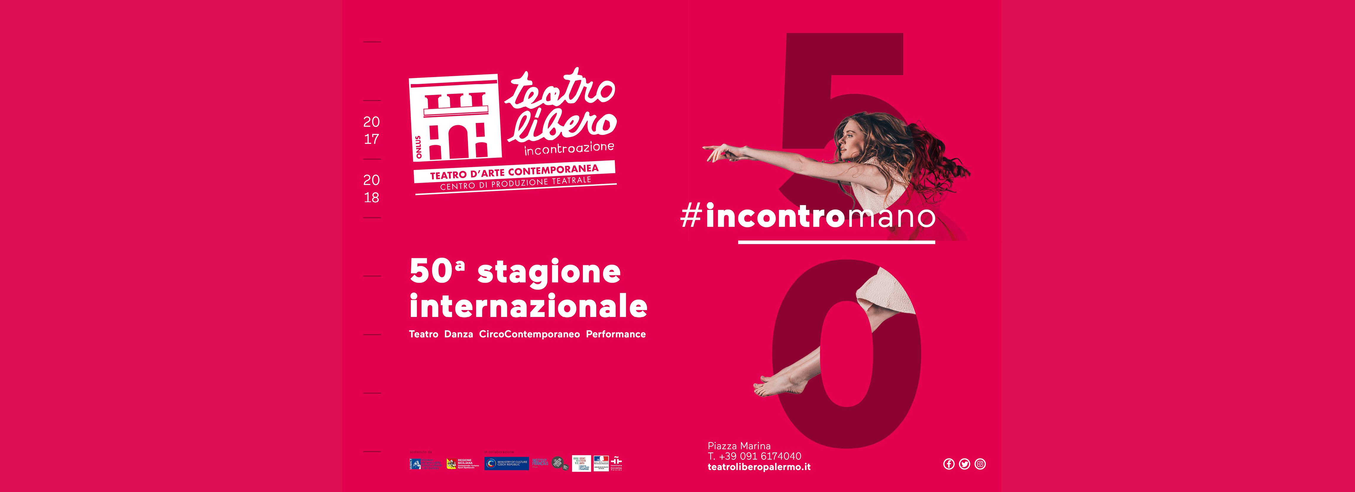 #Incontromano: la 50esima Stagione del Teatro Libero
